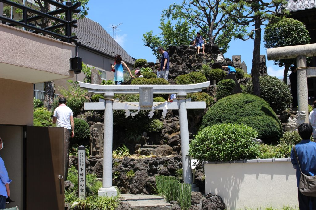 北町の富士塚